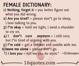 Holdem dictionary