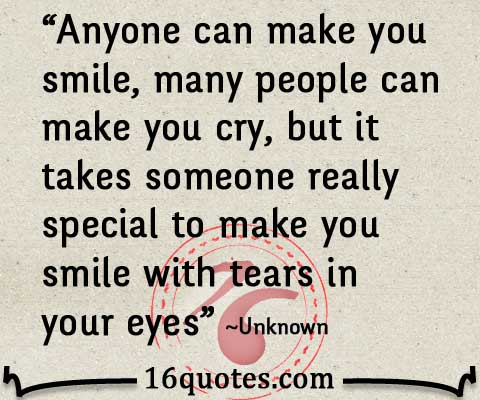 Make A Quote Prepossessing You Can Make Me Smile When I'm Crying
