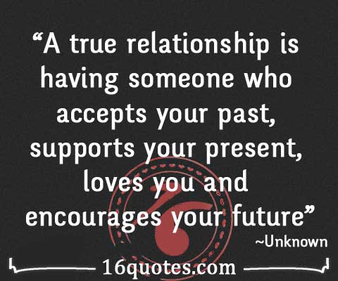 be true and real relationship