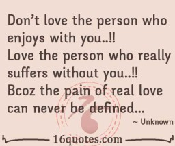 T Pain Quotes About Love : Dont love the person who enjoys with you..!!Love the person who ...