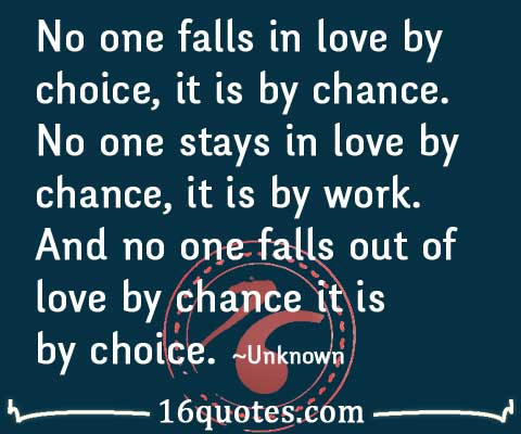chance and love