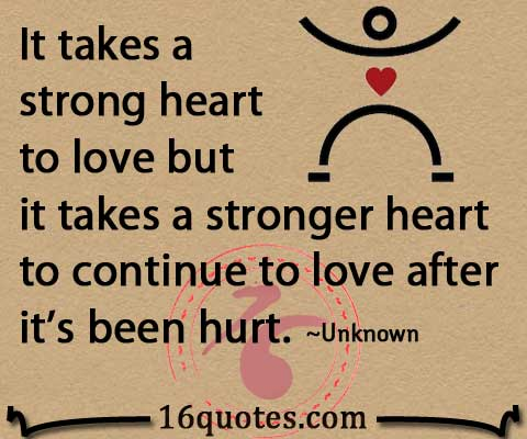 strong heart quote