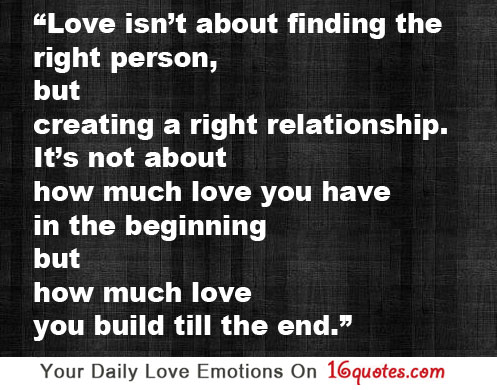 Finding Love quote