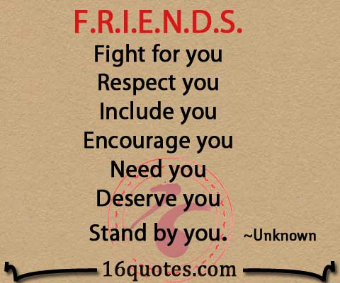 Quotes About Friendship Fights Alluring F.r.i.e.n.d.sfight For You Respect You.