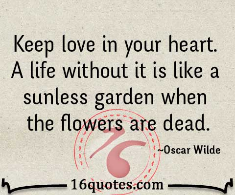 Keep love in heart quotes