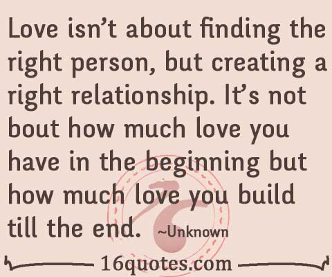 Quotes About How Much I Love You Inspiration Love Is About How Much Love You Build Till The End