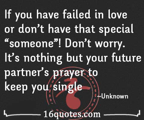 failed in love quotes