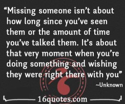 missing someone quotes