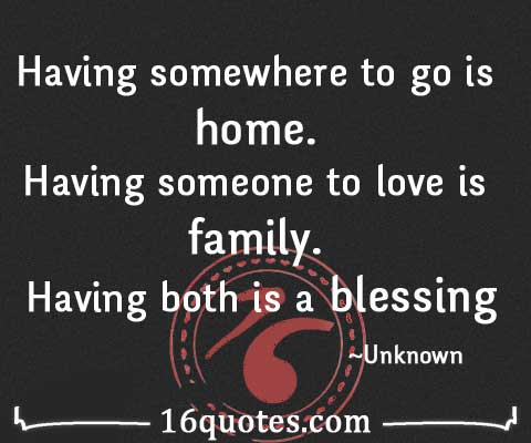 having someone to love