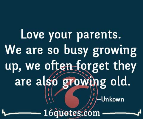 Parents Love Quotes : Quotes About Parents Love. QuotesGram