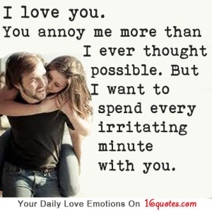 I Love You Quotes And Messages : About I love You Quotes