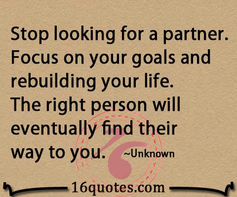 Find a partner for life