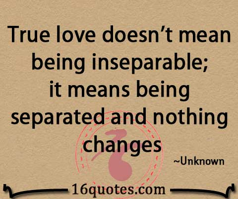 being inseparable quotes