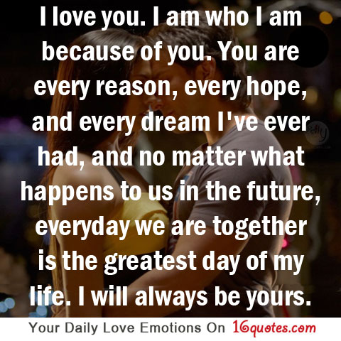 Love  Picture on Love You Quotes Quote