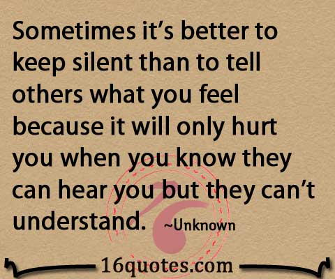 Keep Silence Quotes Keep Silent Quotes