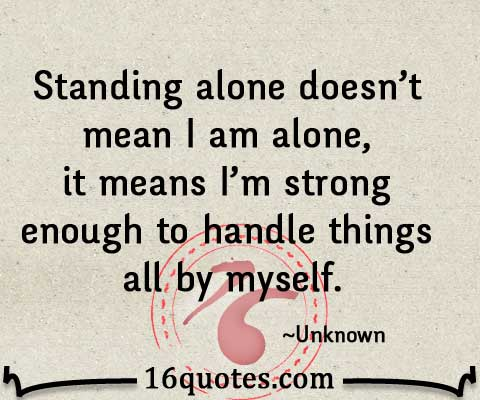 Like I am strong quote