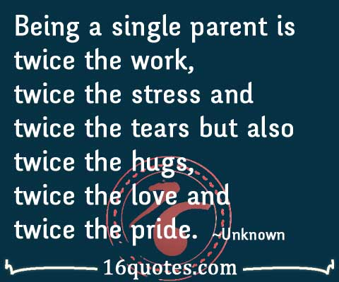 single parent quotes