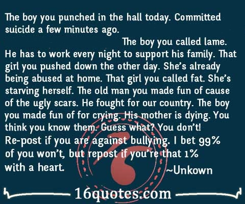 against bullying quotes