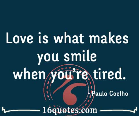 love makes you smile quotes