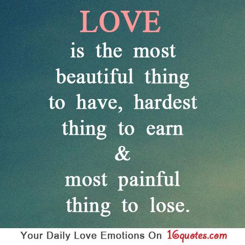 beautiful love