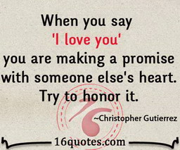 make a promise quotes
