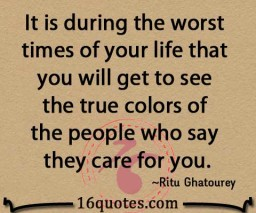 people who say they care for you quote