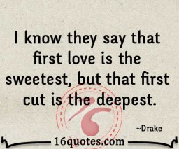 sweetest first love quote